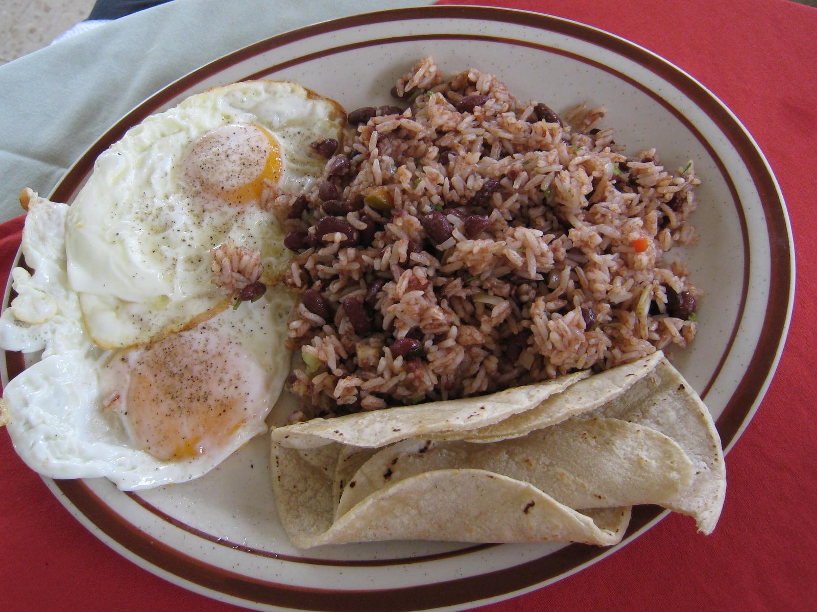 Costa Rica Guide Travel Food Gallo Pinto Recipe Costa Rica