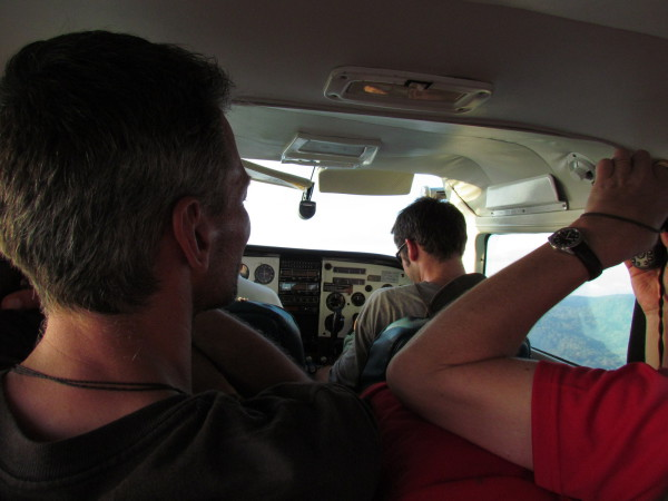 Alfa Romeo Air Charter with Ryan as the co-pilot