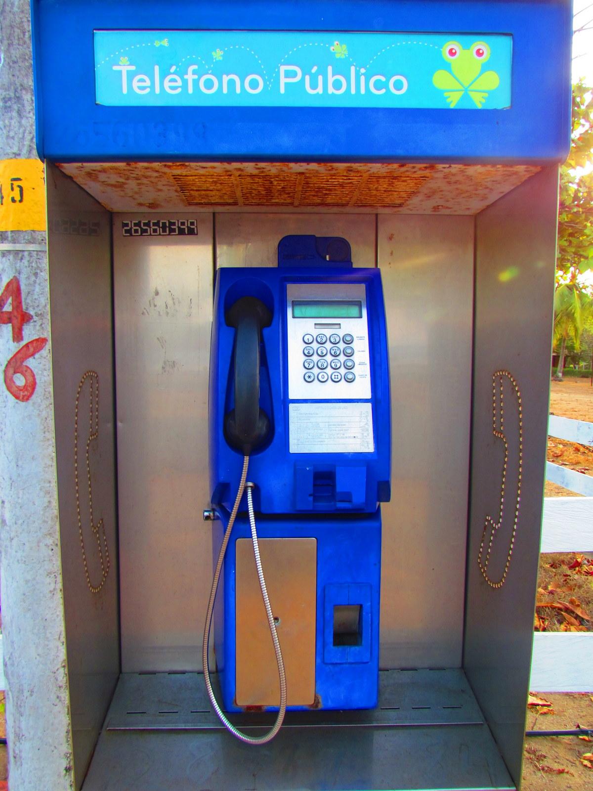 pay phone - télefono público