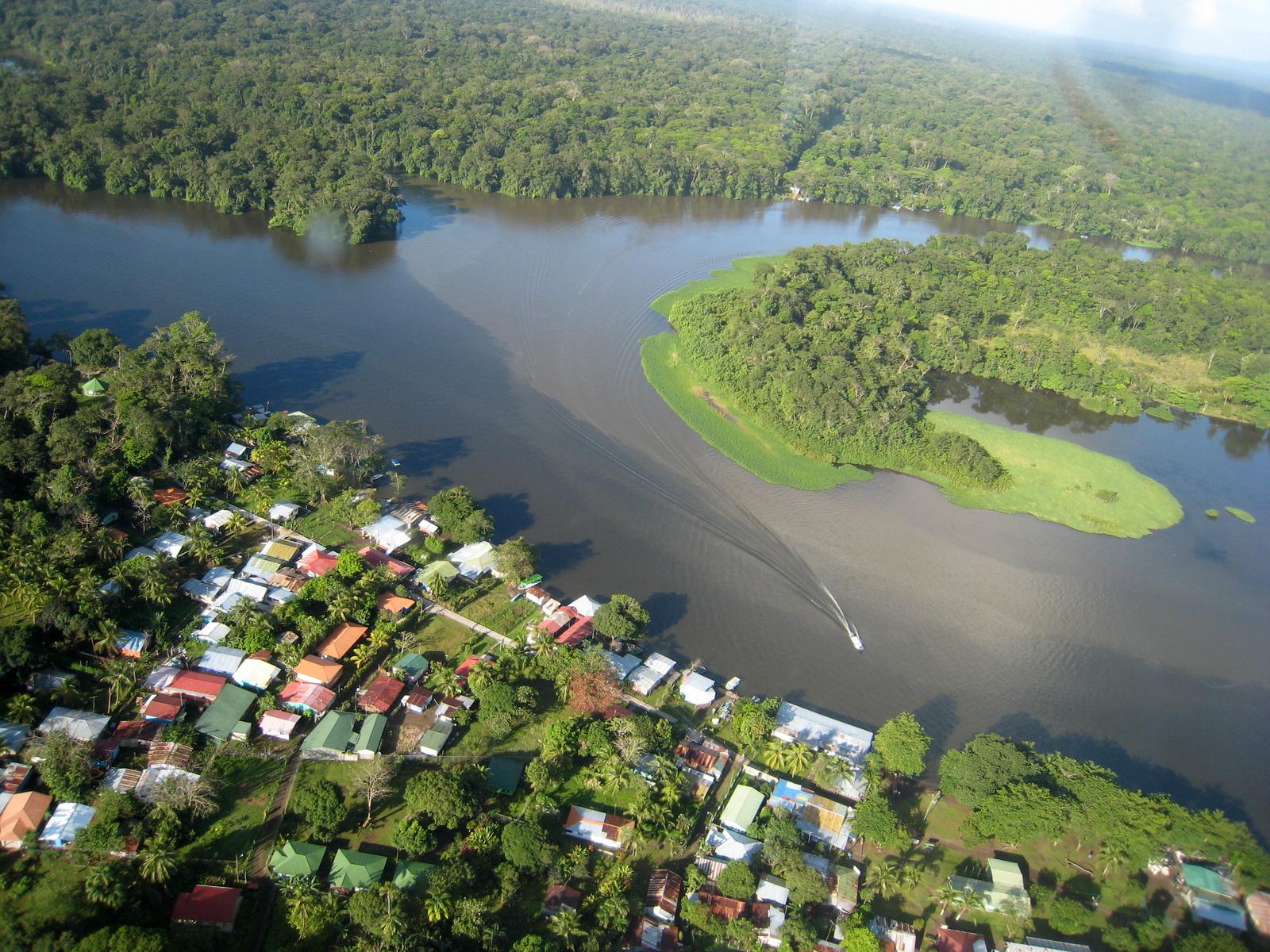 Uber Price Quote >> Tortuguero Village Aerial