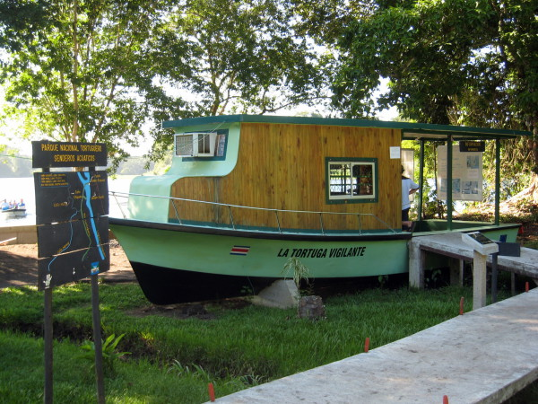Tortuguero national Park Ticket office