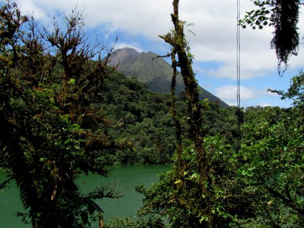 Lago Cerro Chato volcano hikie and swim