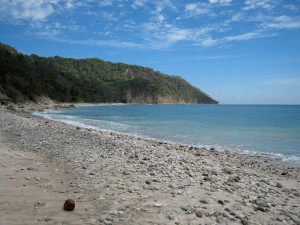 Playa Cabo Blanco at the tip of the Nicoya Peninsula