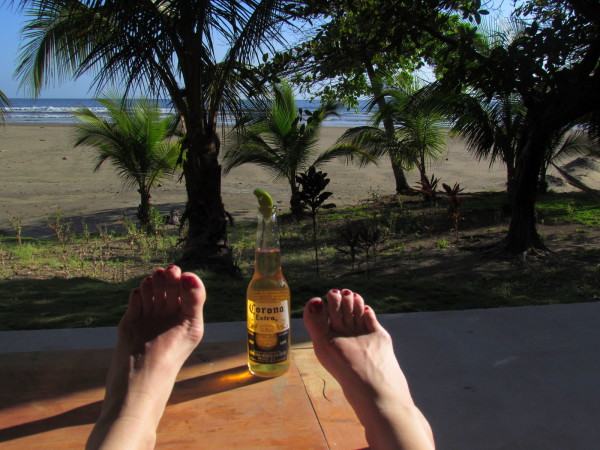 Beer on the Beach Costa Rica