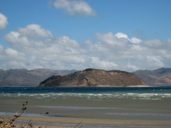 Isla Bolaños National Wildlife Refuge from Playa Coyotera