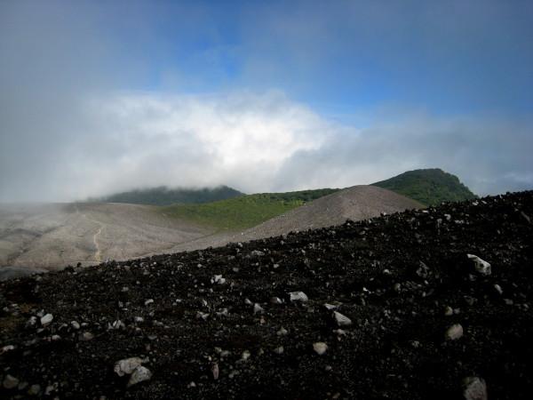 crater rim of Rincón de la Vieja