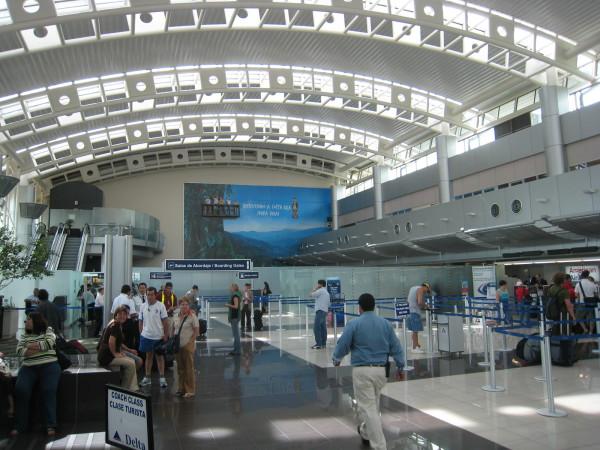 Departure level - Juan Santamaria Airport SJO