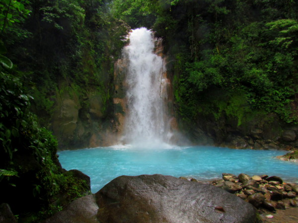 Celeste Waterfall, Tenorio