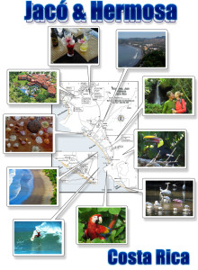 Jaco Hermosa Herradura photo map