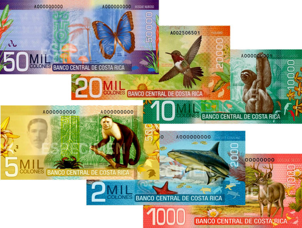 Costa Rica new currency