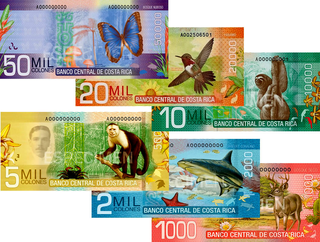 Money Currency In Costa Rica