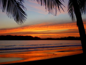 Sunset on a Guanacaste Beach