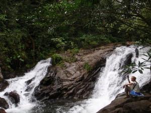Sue at the Catarata Bosque Encantado