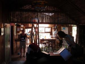 Casa Mariposa common area