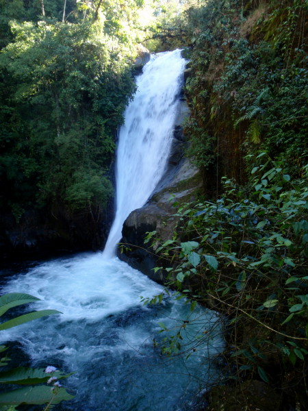Waterfall on the Rio Chirripo