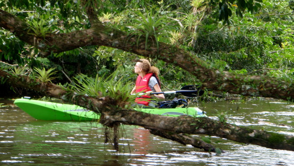 kayak, Cano Negro Wildlife Refuge, Costa Rica
