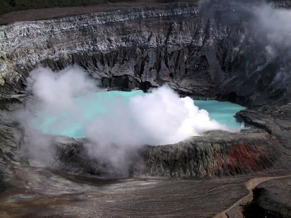 Poas Volcano - The Crater