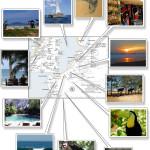Tamarindo Beach & Langosta Map