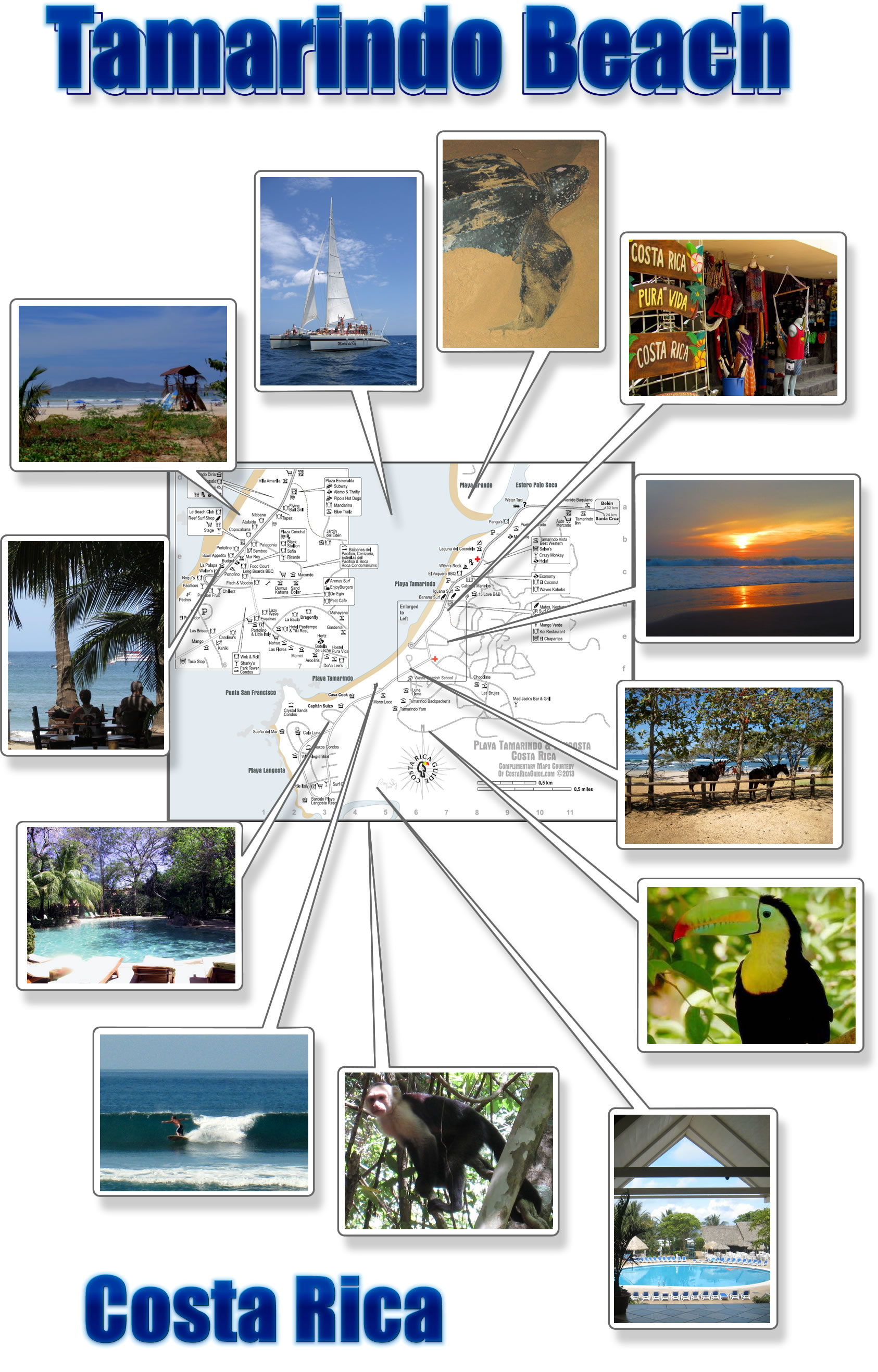 Tamarindo Langosta Photo Map
