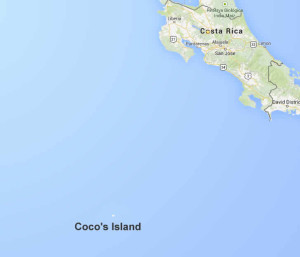Cocos Island Google Map