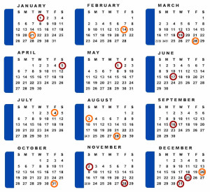 Calendar of Costa Rica Holidays and Fiestas