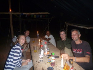 Cocktail hour at Camp EdEase