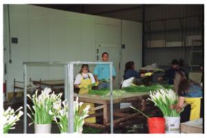 Flower export warehouse