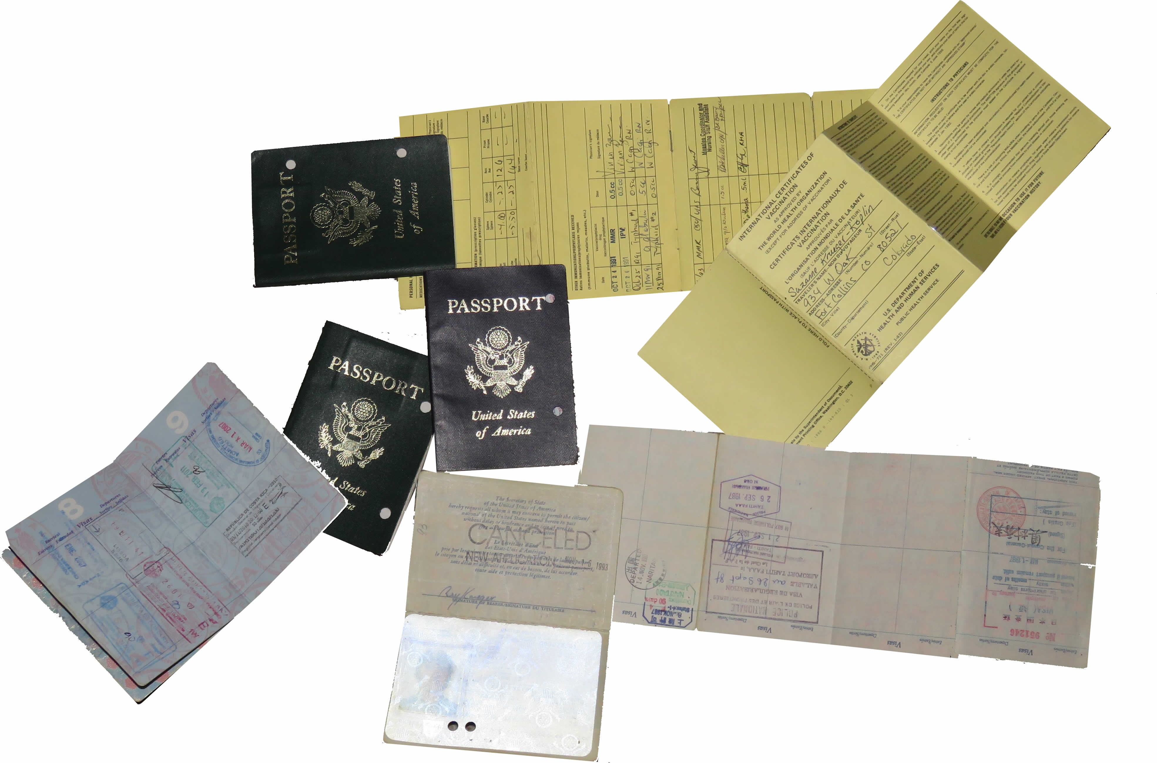 Passport visa other entry requirements for costa rica travel passport immunizations freerunsca Images