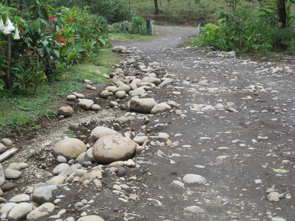 Gravel is not the same in Costa Rica