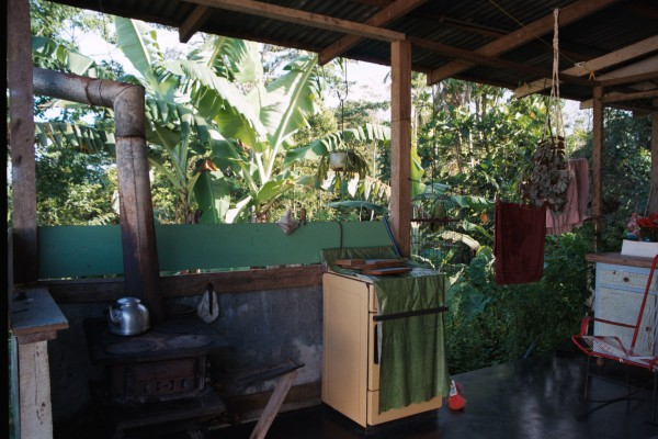 A Costa Rican kitchen