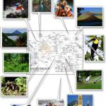 Arenal Volcano & La Fortuna Map