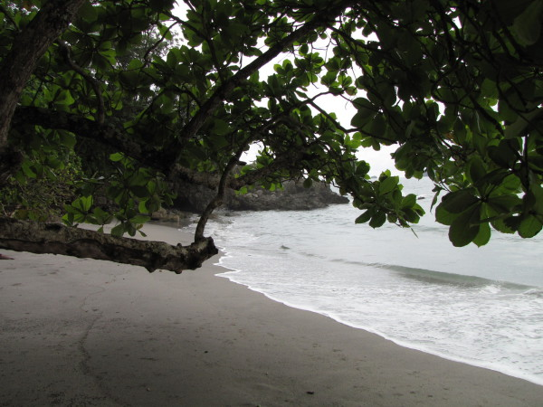 Playa Dulce de Vida in front of Arenas del Mar boutique resort hotel northwest of Espadilla Manuel Antonio in front of Hotel Arenas del Mar