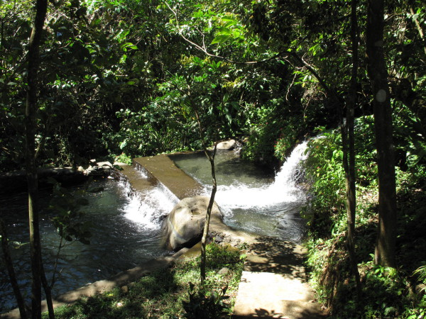 Natural hotsprings north of Tierras Morenas down a challenging 4WD track but worth a vist.