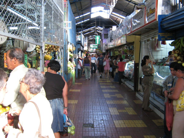 Mercado Central, Heredia - see the big H's in the tile ;-)