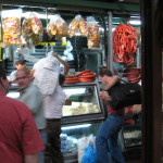 Sausages mercado Central, Heredia