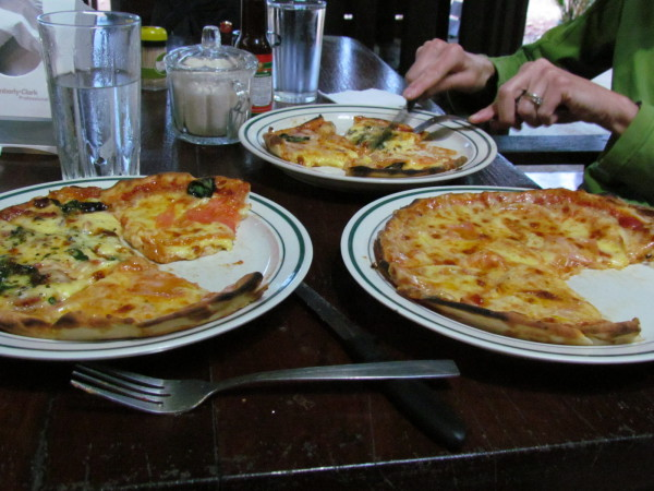 Pizza is as popular in Costa Rica