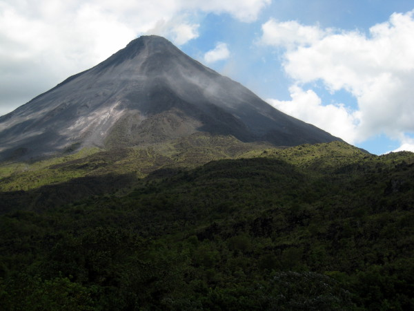 Arenal Clear view