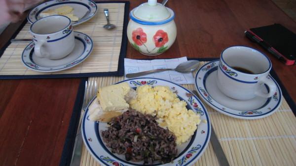 Breakfast at Guayabo Lodge