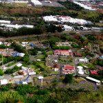 Parque de Diversiones - Amusement park, Pavas from the air