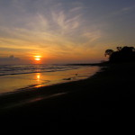Playa Preciosa Platanares sunrise
