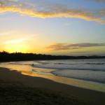 Sunset Playa Manzanillo Costa Rica
