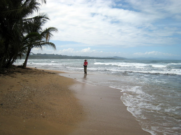 Northeast end of Playa Manzanillo