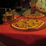 Pizza at Corleone's Restaurant Cahuita
