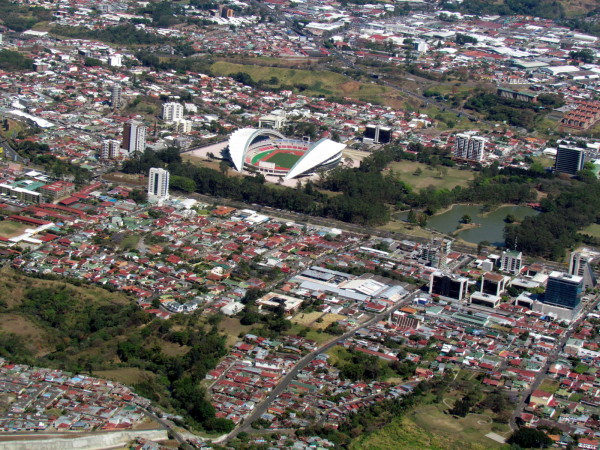Parque Sabana and new national stadium