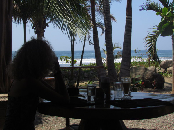 Beachfront lunch