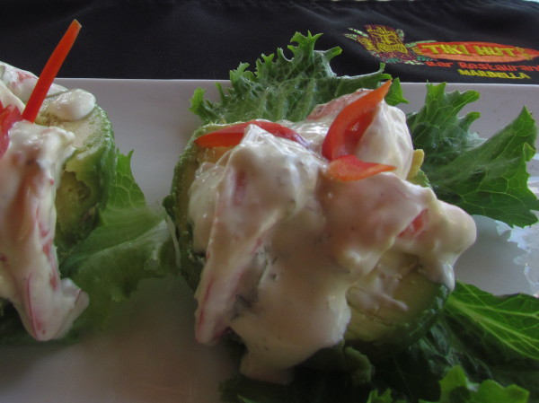 Shrimp stuffed Avacados
