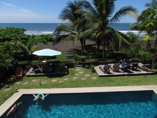 Tortuga del Mar beachfront boutique hotel on Playa Hermosa