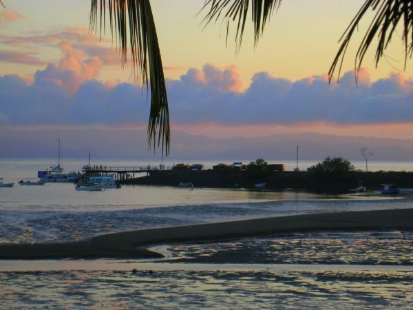 Muelle Puerto Jimenez at sunrise