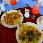 Thai food Restaurant Coconut Spice, Domincal