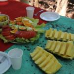 Lunch Cano Island